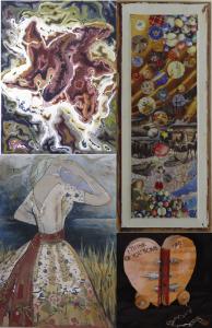Collage of Jennifer's Work