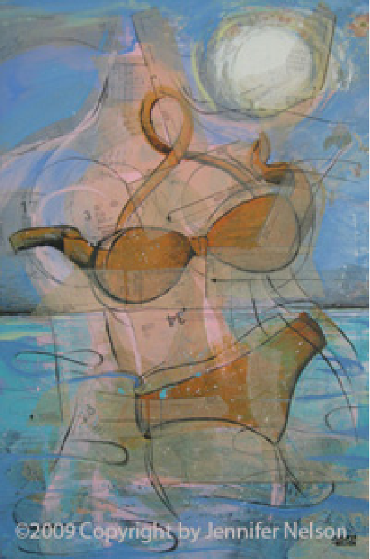 Skinny Dip   33 x 48   Available