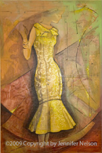 Yellow Dress | 33 x 48 | SOLD