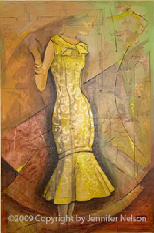 Yellow Dress   33 x 48   SOLD