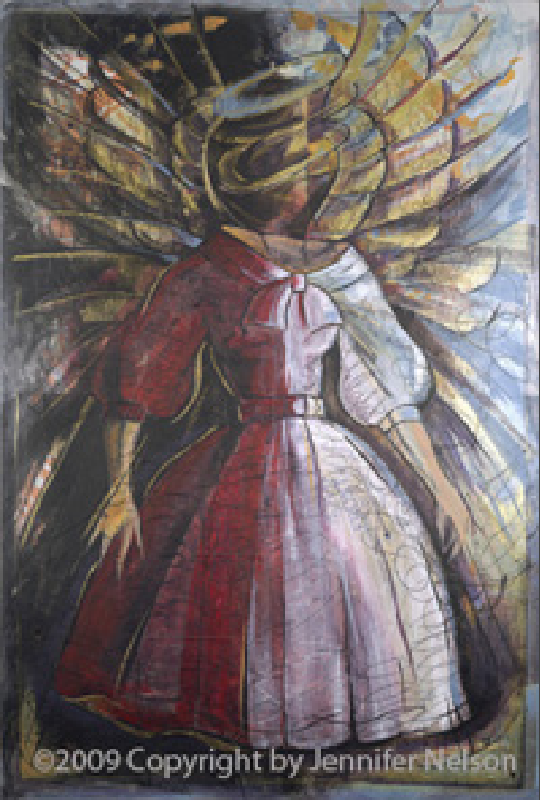 She's an Angel   33 x 48   Available