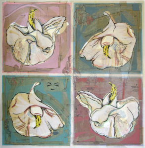 Banana Orchid | 48 x 48 | Available