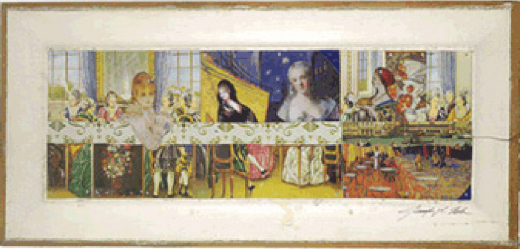 The Ladies Supper | 24 x 10 | Available