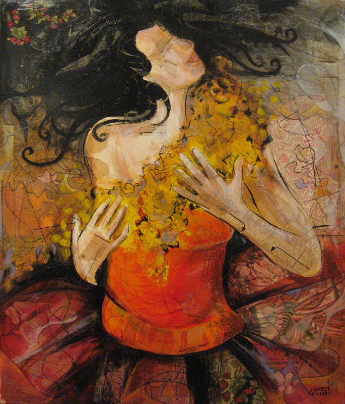 Gypsy Dancer   32 x 38   Available