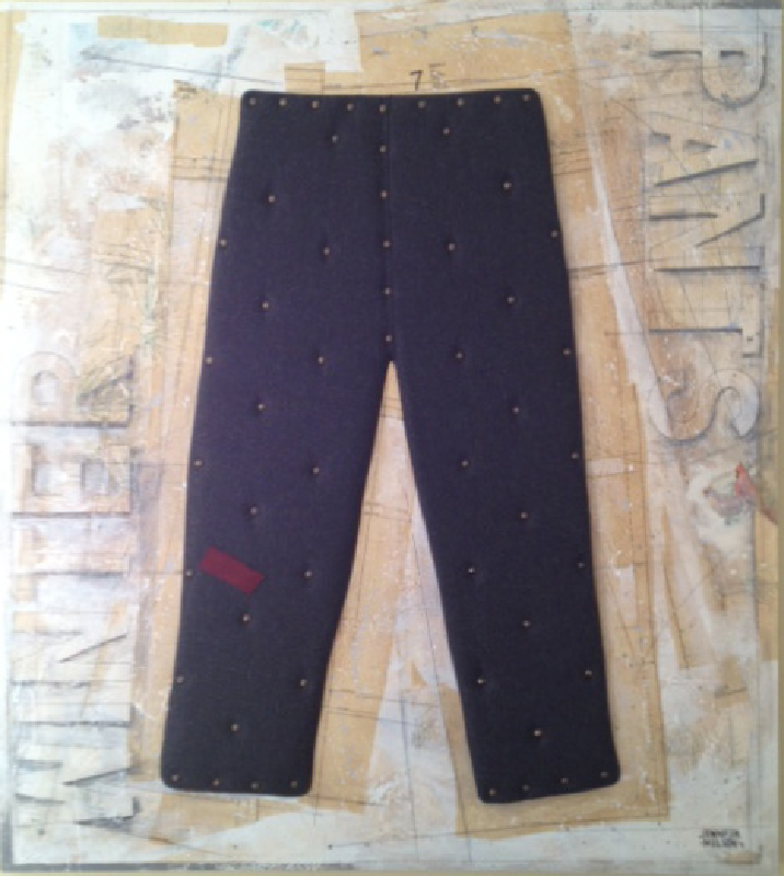 Winter Pants   42 x 48   Available