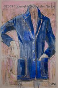 Blue Jacket | 33 x 48 | Available